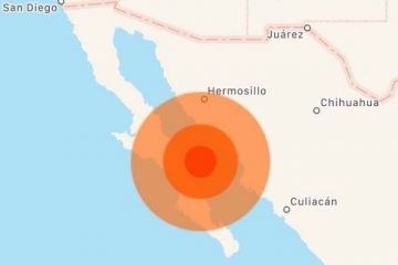 Un sismo de magnitud 6,5 sacude Baja California Sur