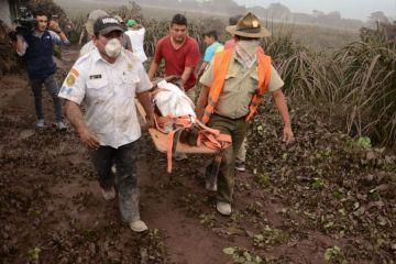 Guatemala recibe solidaridad y apoyo tras explosión de volcán con 62 muertos
