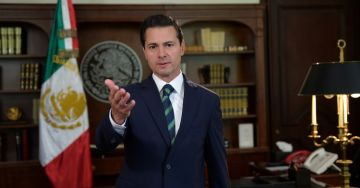 """Peña Nieto exhorta a Trump a no volcar en México su """"frustración"""" política"""