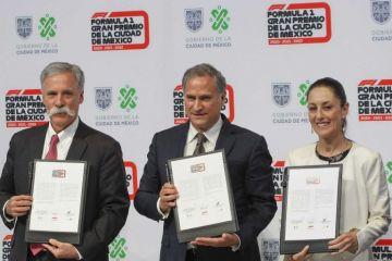 La Ciudad de México firma contrato con la Fórmula Uno hasta 2022