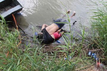 Un padre y su hija pierden la vida al intentar cruzar Río Bravo