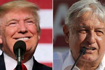"""Trump telefonea a López Obrador y asegura que trabajarán """"bien juntos"""""""