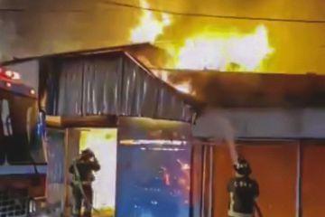 Ciudad de México registra cinco incendios en mercados desde diciembre