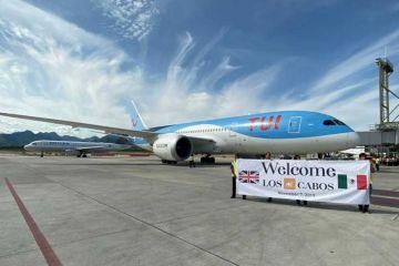 Los Cabos recibe el primer vuelo directo procedente de Londres