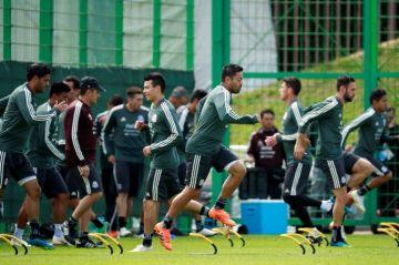 México practica por última vez en el Luzhniki antes del partido contra