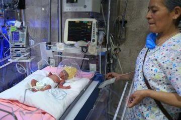 Mujer da a luz a quintillizos en un hospital del IMSS en Ciudad de México