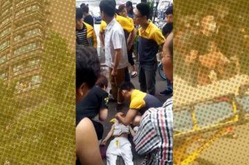 Niño cae desde sexto piso y sus familiares no se dieron cuenta