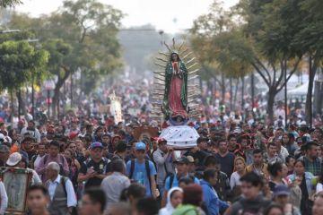 Dos millones de peregrinos llegan a la Basílica de Guadalupe en la CDMX