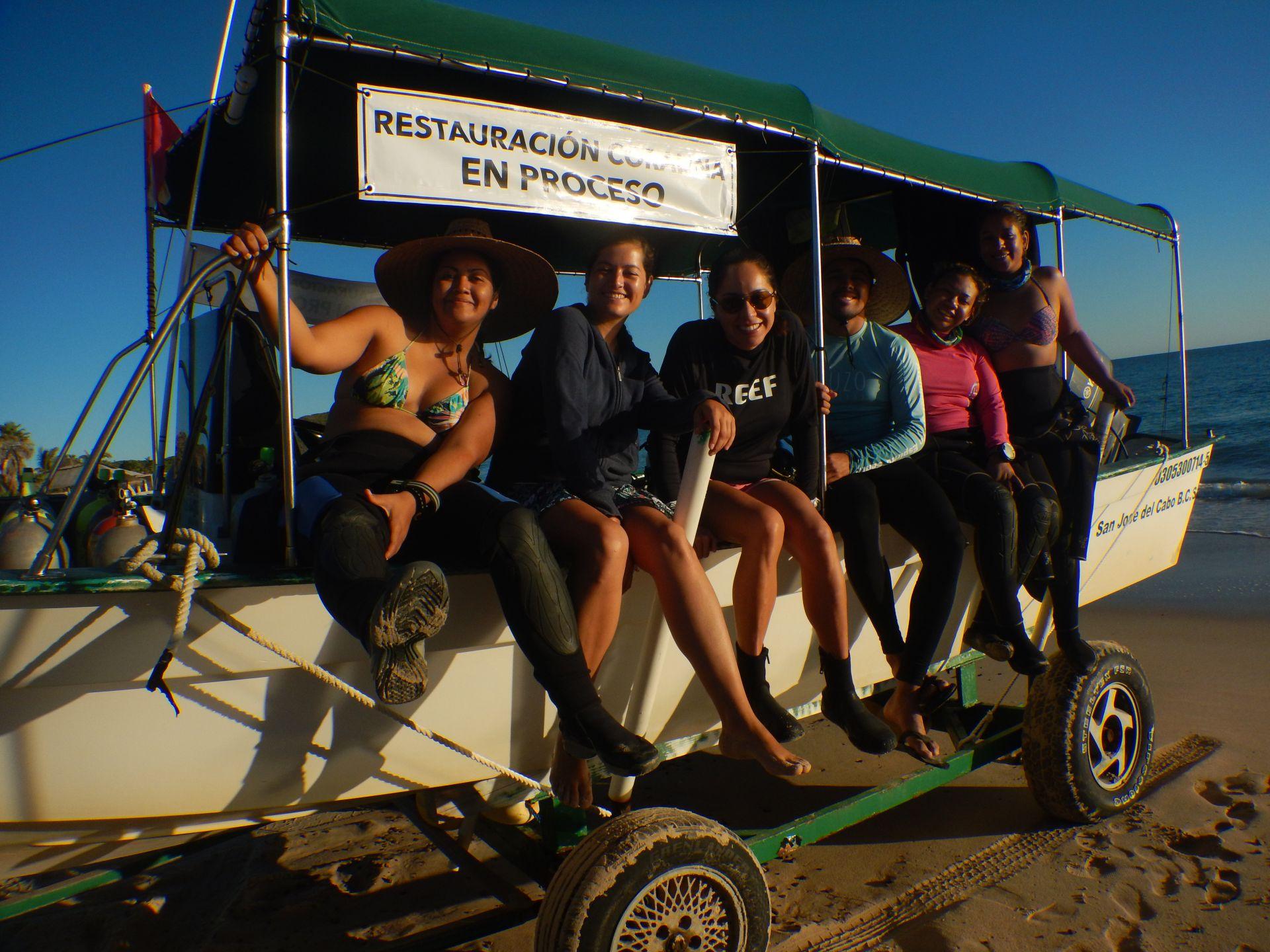Avances de restauración en Parque Nacional Cabo Pulmo 2