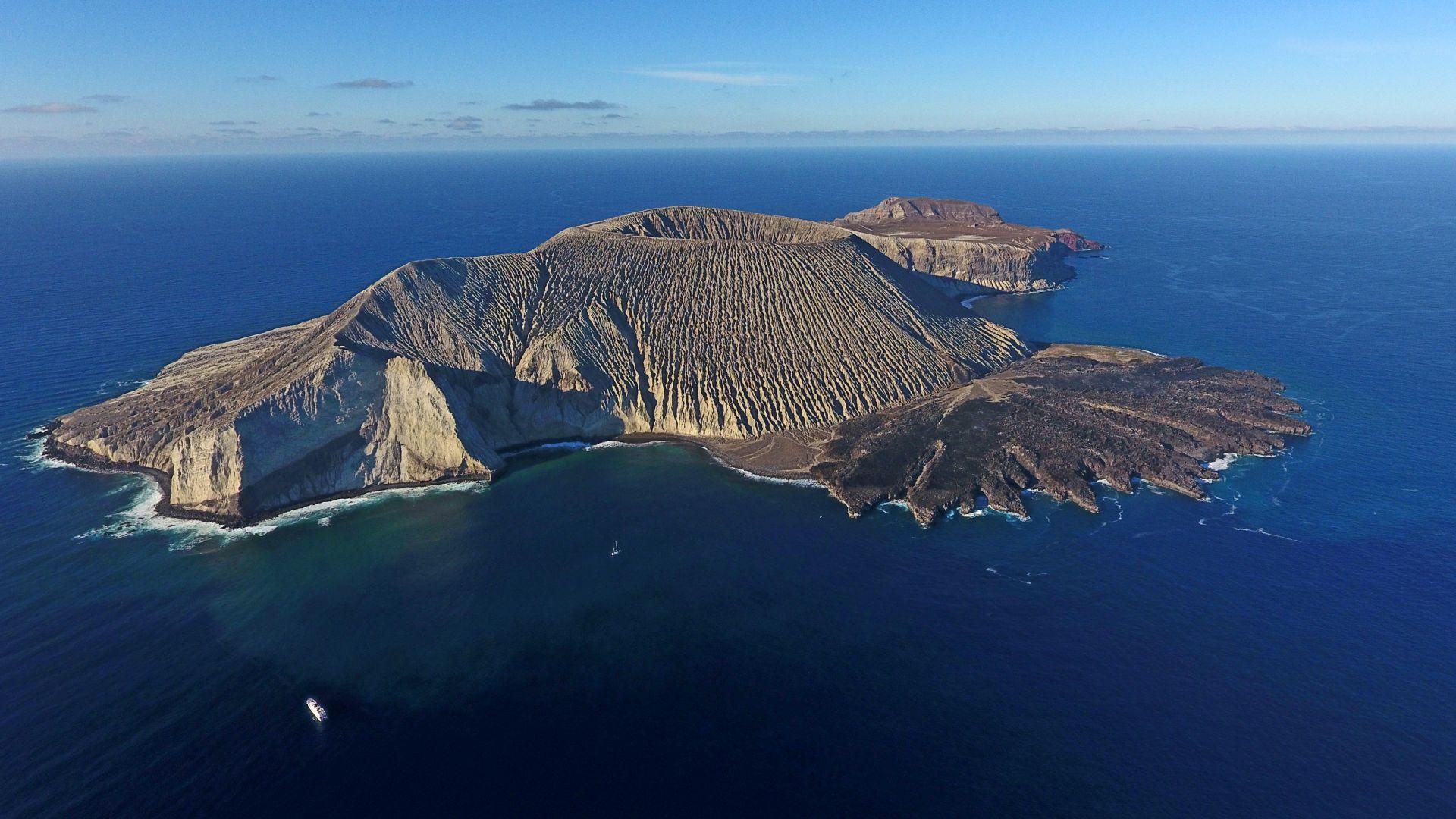 volcanes en las islas revillagigedo