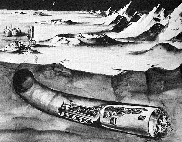 colonias espaciales en la luna