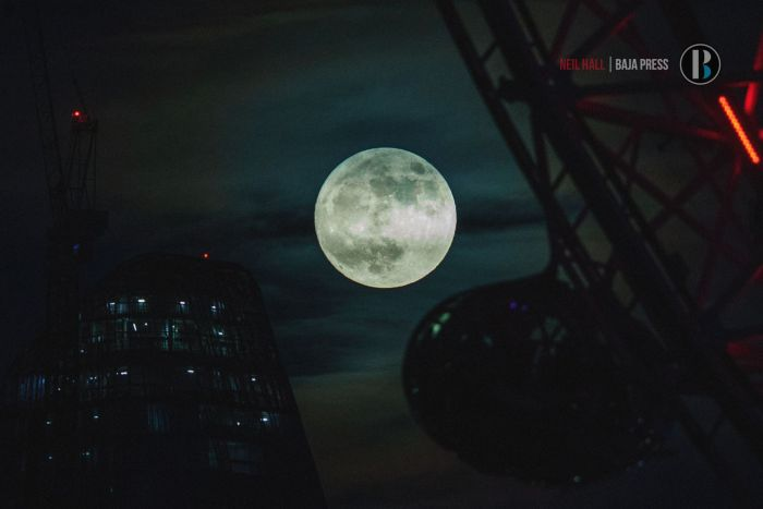 Superluna Londres