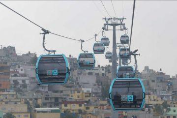CDMX abre línea 1 del Cablebús, su primer teleférico, en la Gustavo A.