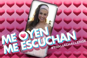 "Thalía convierte en canción su reciente vídeo viral ""Me oyen, me escuchan"