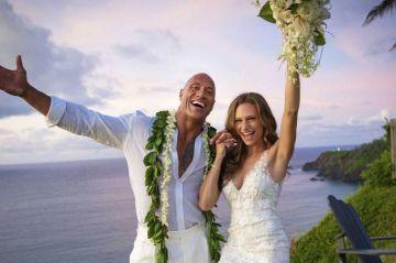 Dwayne 'La Roca' Johnson se casa con Lauren Hashian en una ceremonia secreta en