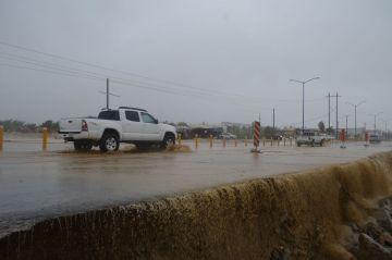 Bud pasa a depresión tropical y deja saldo blanco en Baja California Sur