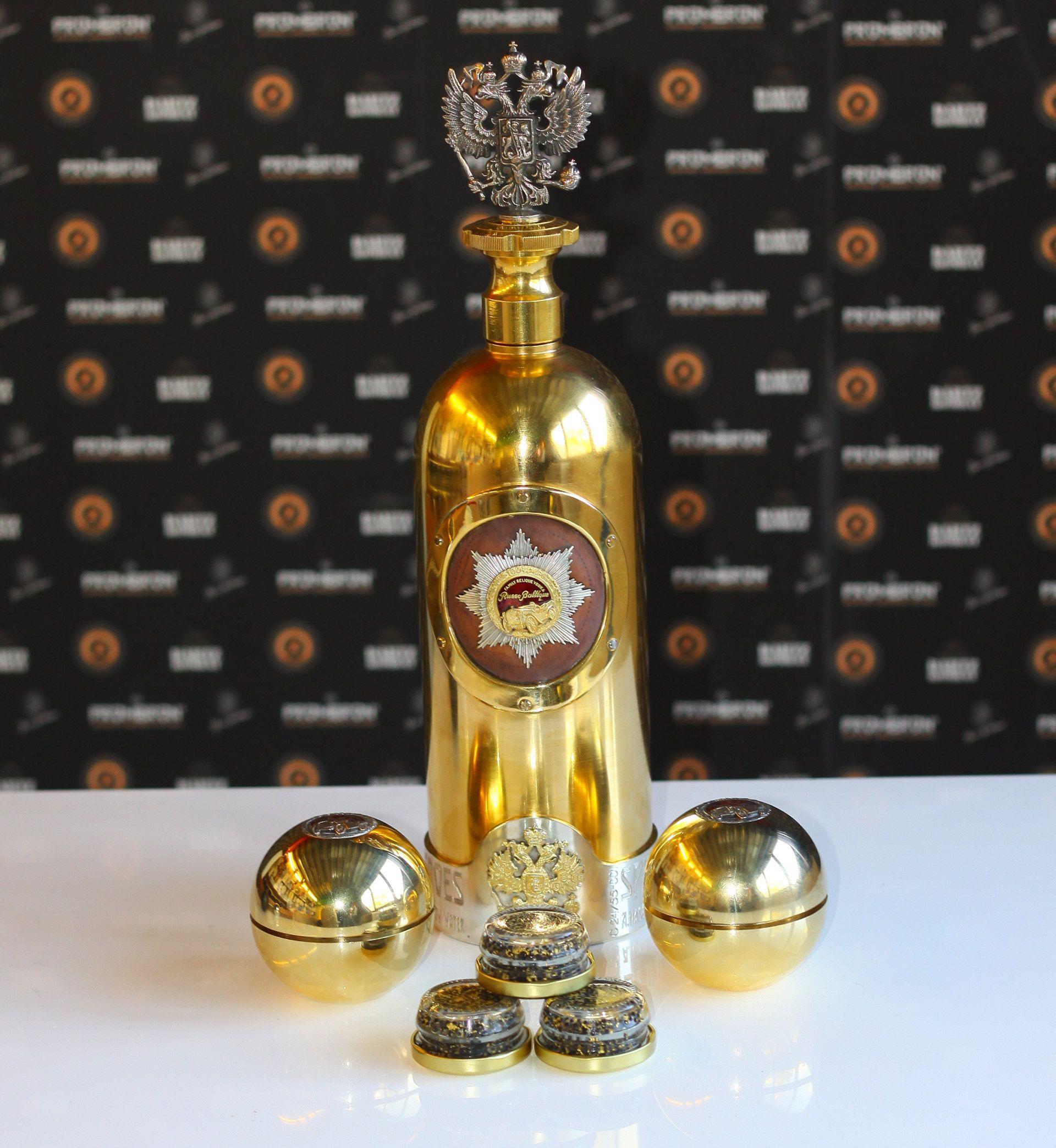 El Vodka más caro del Mundo Russo Baltique