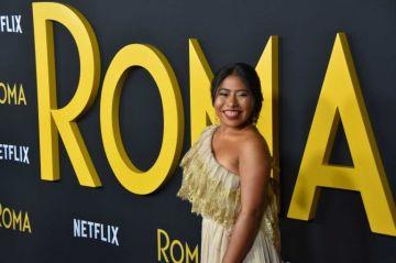 """Las trabajadoras domésticas, protagonistas de premier de """"Roma"""" en Hollywood"""